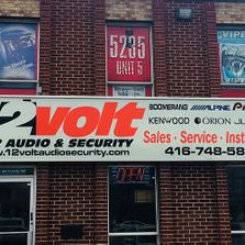 12 Volt Car Audio & Security store front