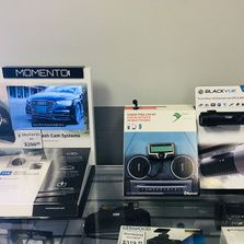 Auto accessories display
