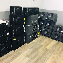 Subwoofer display