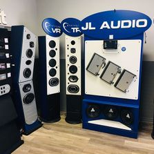 JL Audio store display